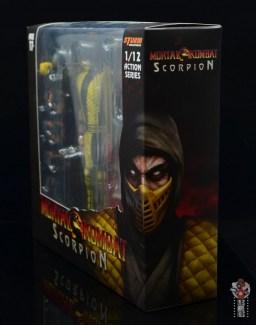 storm collectibles scorpion figure review - package diagonal