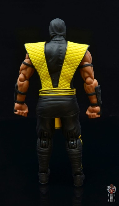 storm collectibles scorpion figure review - rear