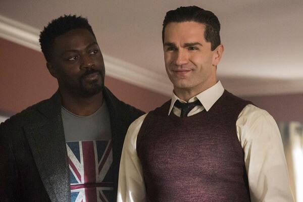 supergirl season 4 - manchester black and ben lockwood