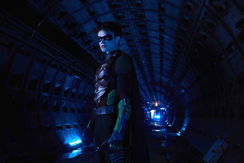 titans ghosts review - robin