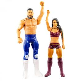 wwe battle pack 62 - andrade and zelina vega - arms up