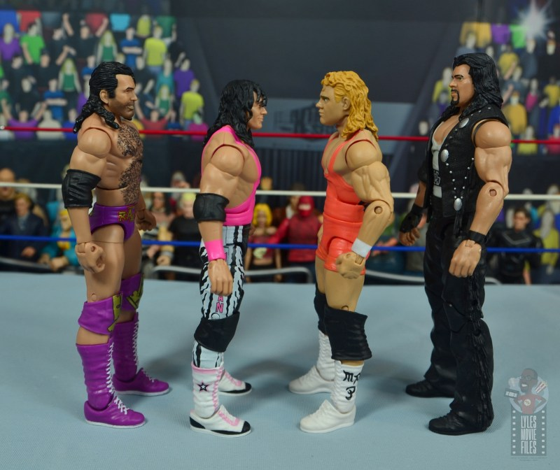wwe bret hart king of the ring 1993 figure review - facing razor ramon, mr. perfect and diesel