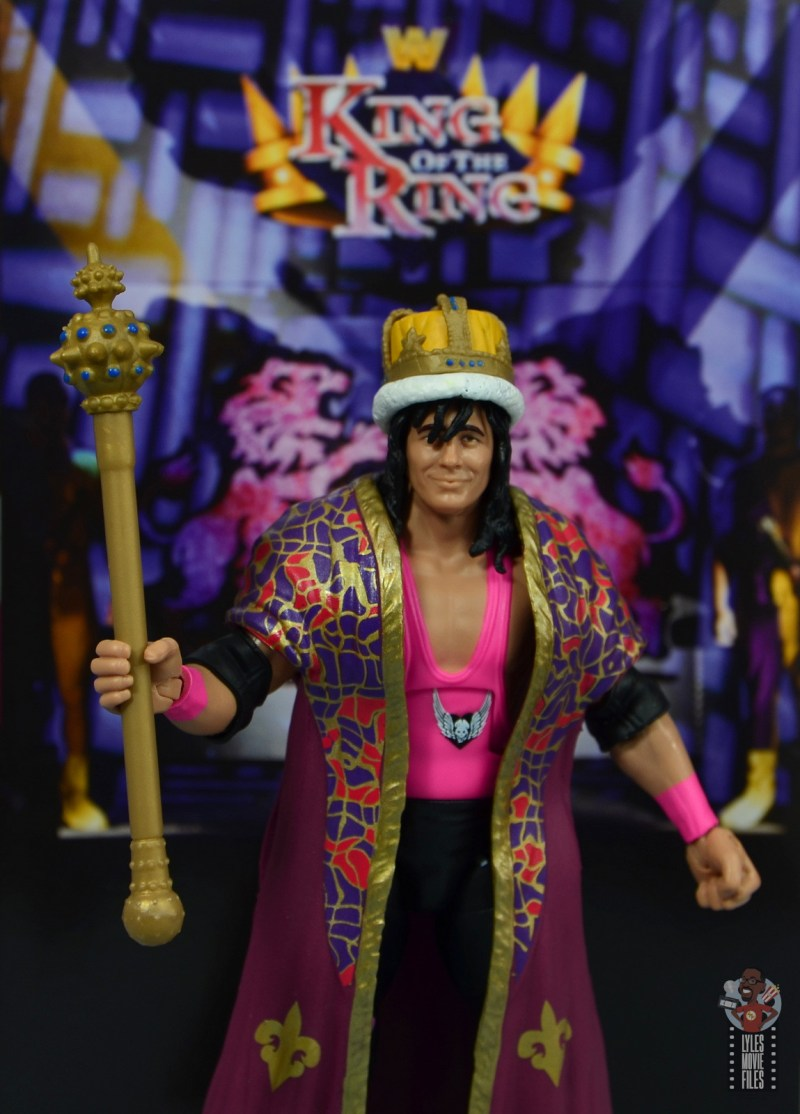 wwe bret hart king of the ring 1993 figure review - package insert backdrop