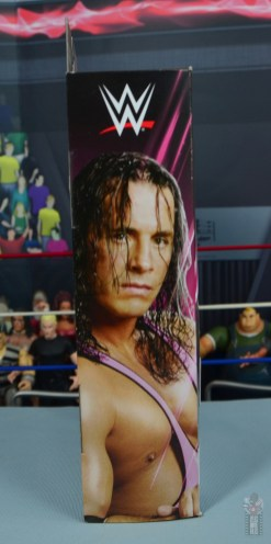 wwe bret hart king of the ring 1993 figure review - package side