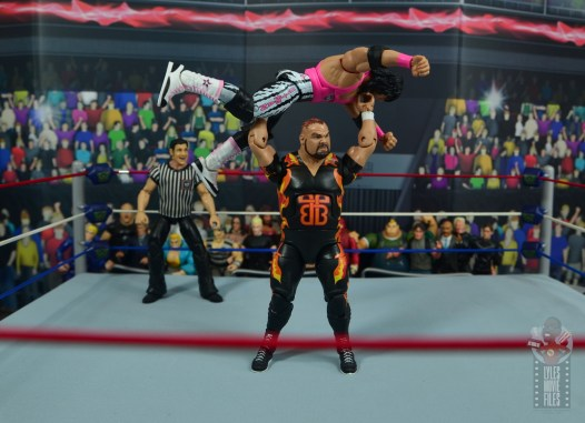 wwe bret hart king of the ring 1993 figure review - press slam from bam bam bigelow