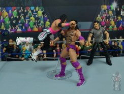 wwe bret hart king of the ring 1993 figure review - spring clothesline on razor ramon