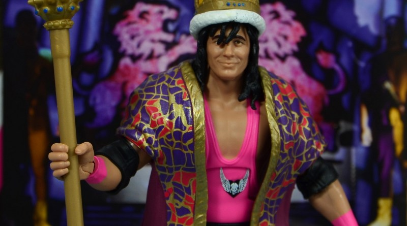 wwe bret hart king of the ring 1993 figure review - wide shot