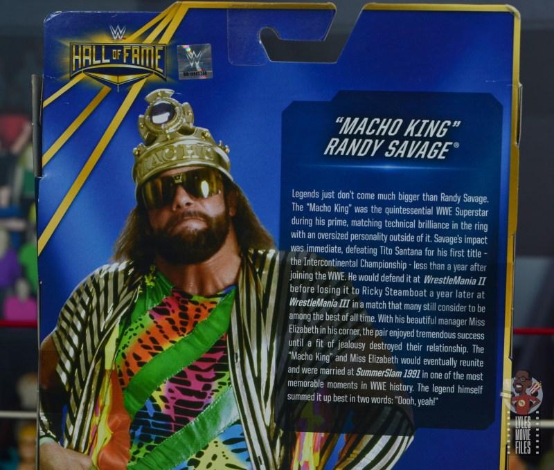wwe elite macho king figure review - bio