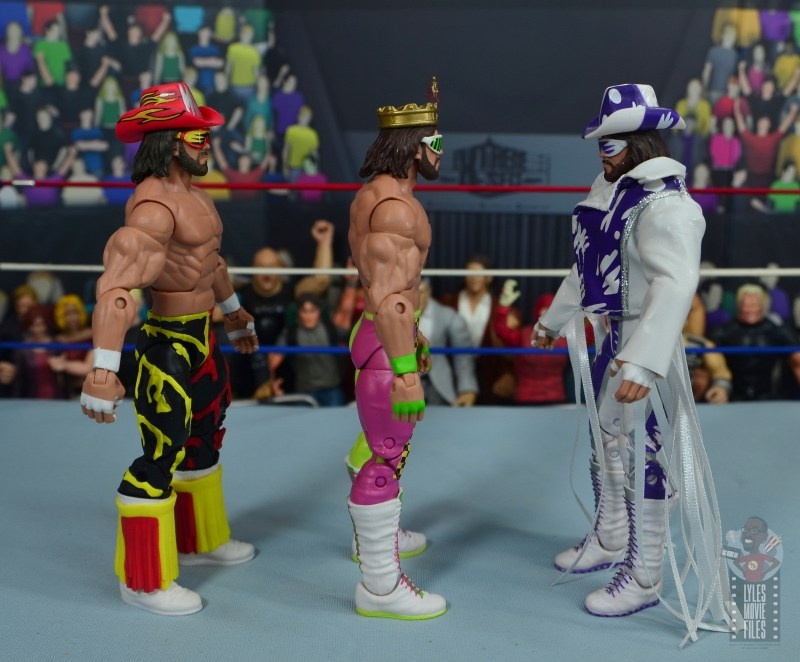 wwe elite macho king figure review - facing wcw and defining moments randy savage