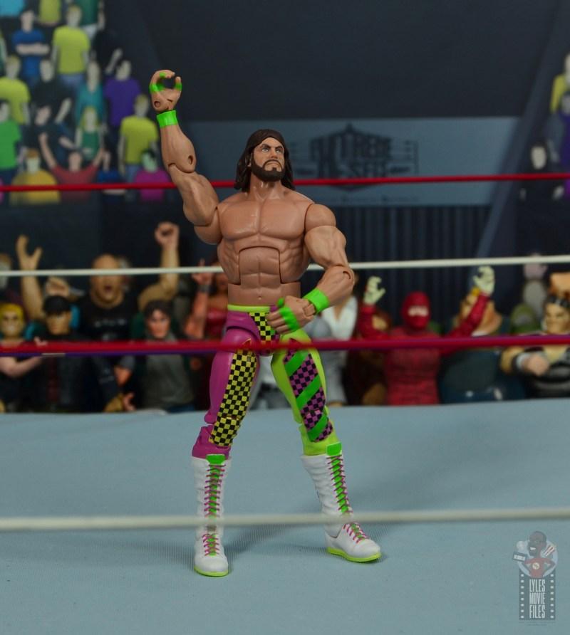 wwe elite macho king figure review - macho man pose