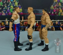 wwe elite pat patterson figure review - facing sgt slaughter and bruno sammartino