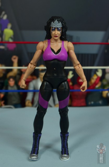 wwe elite sensational sherri figure review - front