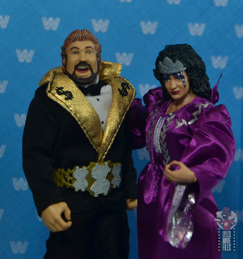 wwe elite sensational sherri figure review - interview segment with ted dibiase