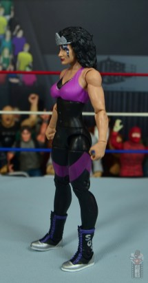 wwe elite sensational sherri figure review - left side