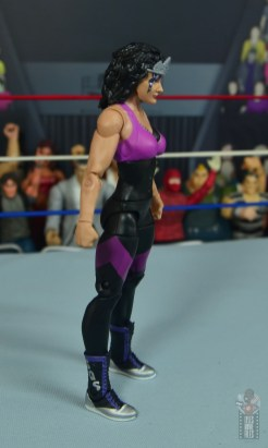 wwe elite sensational sherri figure review - right side