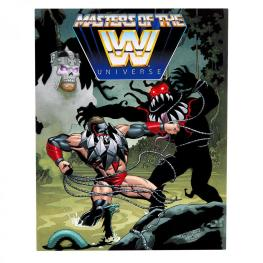 wwe masters of the universe finn balor - mini-comic
