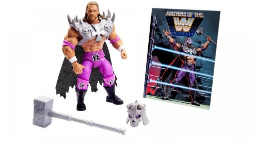 wwe masters of the universe triple h - accessories