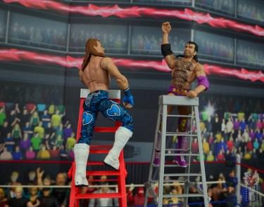 wwe network spotlight shawn michaels figure review - atop ladders measuring razor ramon
