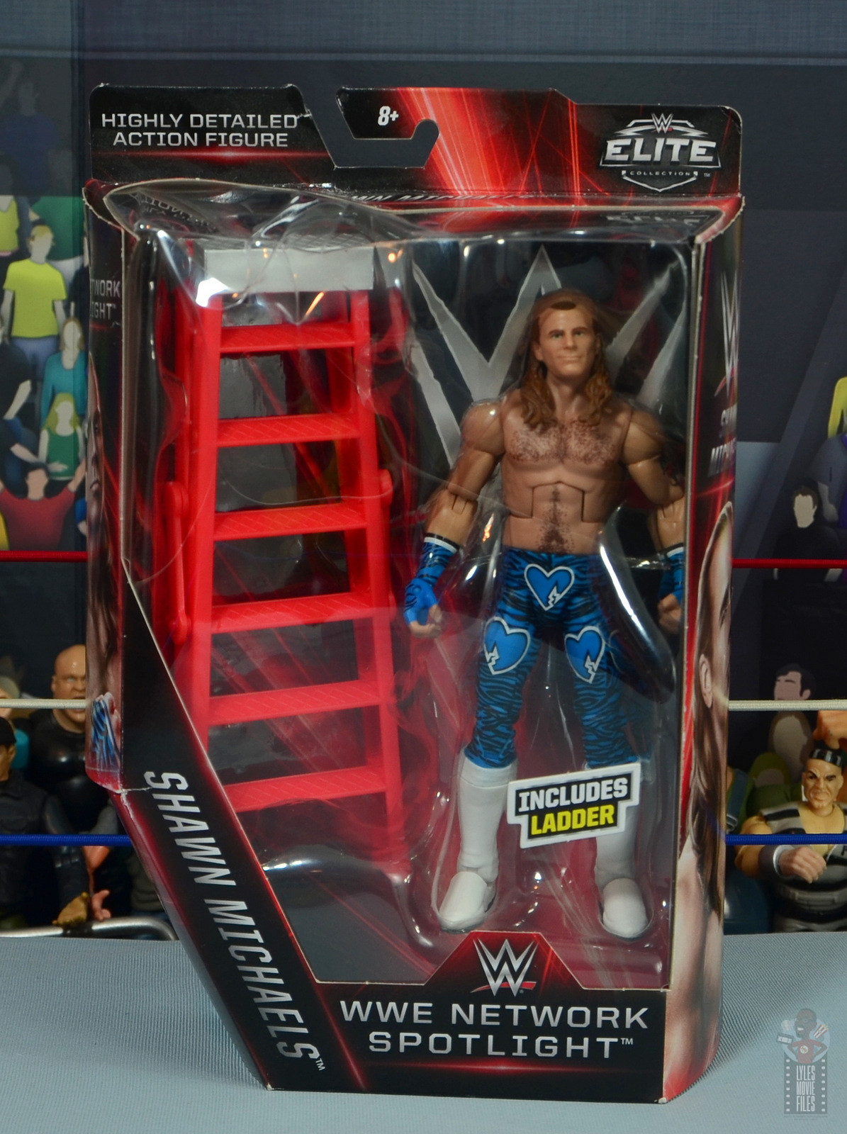 WWE ELITE SHAWN MICHAELS FIGURE EXCLUSIVE NETWORK SPOTLIGHT HBK SUMMERSLAM 95