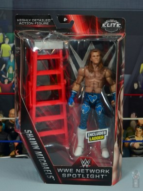 wwe network spotlight shawn michaels figure review - package front