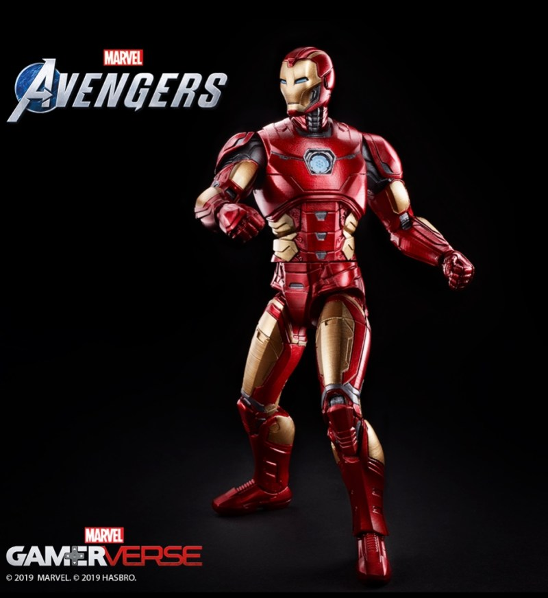 Marvel's avengers iron man figure