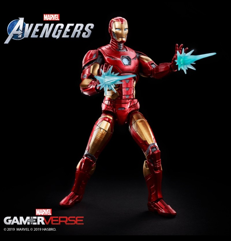 Marvel legends Marvel's avengers iron man figure