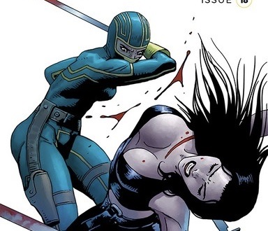 Kick-Ass #18 cover