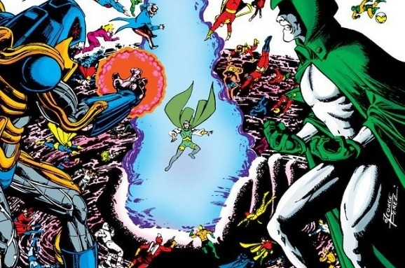 Crisis on Infinite Earths Spectre vs anti-Monitor