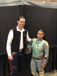 Baltimore Comic Con 2019 - Han Solo and Boba Fett