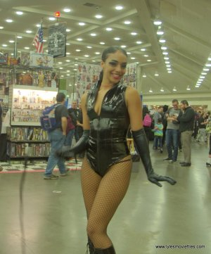 Baltimore Comic Con 2019 cosplay - catwoman