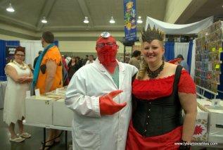 Baltimore Comic Con 2019 cosplay - dr zoidberg and