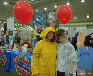 Baltimore Comic Con 2019 cosplay - george and bill