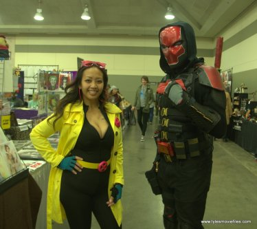 Baltimore Comic Con 2019 cosplay -jubilee and red hood