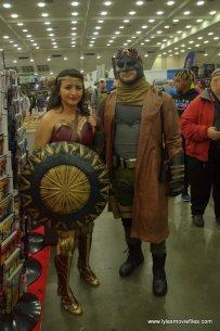 Baltimore Comic Con 2019 cosplay - wonder woman and knightmare batman