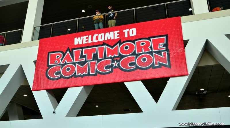 Baltimore Comic Con 2019 - sign