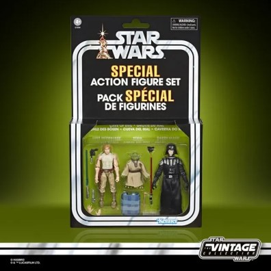 STAR WARS THE VINTAGE COLLECTION 3.75-INCH CAVE OF EVIL Figure Set - in pck