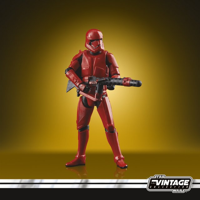 STAR WARS THE VINTAGE COLLECTION 3.75-INCH SITH TROOPER Figure - oop