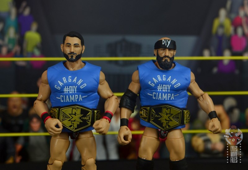 WWE Hall of Champions DIY figure review - with accessories on