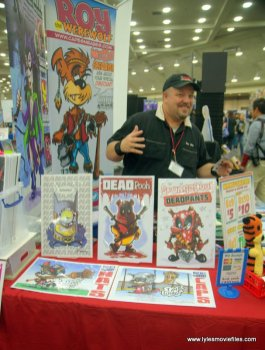 baltimore comic con 2019 - chris flick capesnbabes
