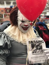 baltimore comic con 2019 - pennywise