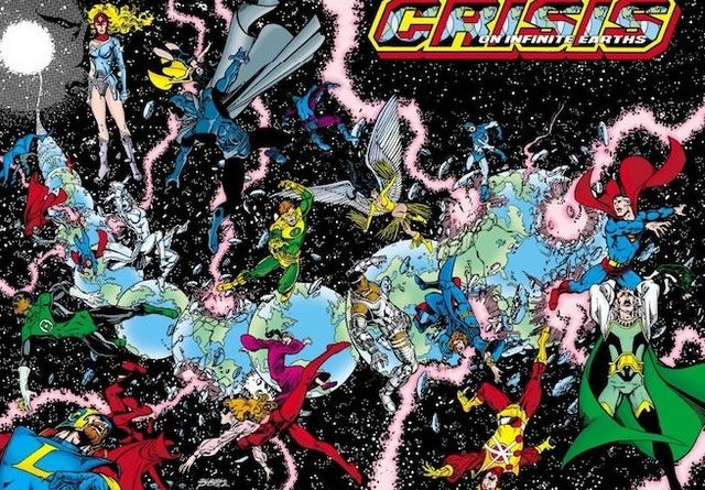 crisis on infinite earths #1 - cover