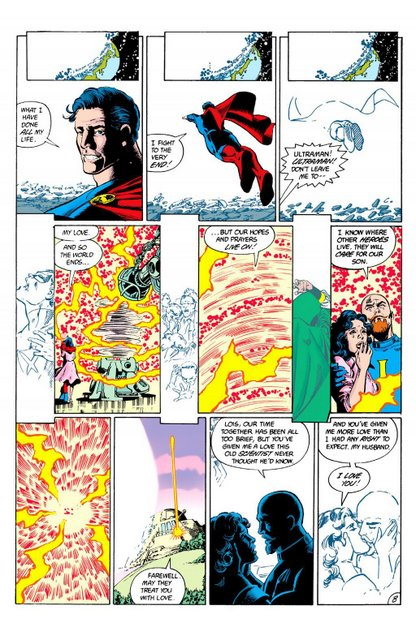 crisis on infinite earths #1 - ultraman dies and alexander luthor iii escapes