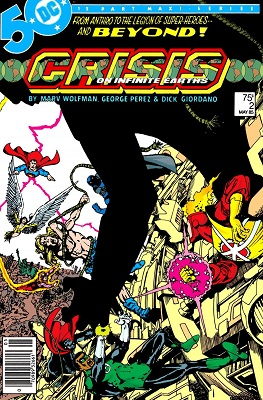 crisis on infinite earths #2 - cover