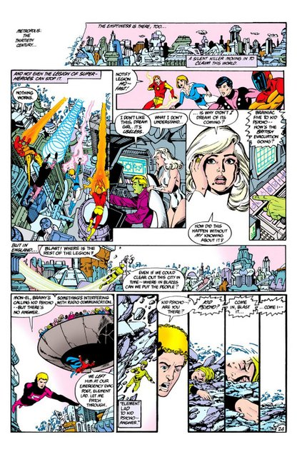 crisis on infinite earths #3 kid psycho dies