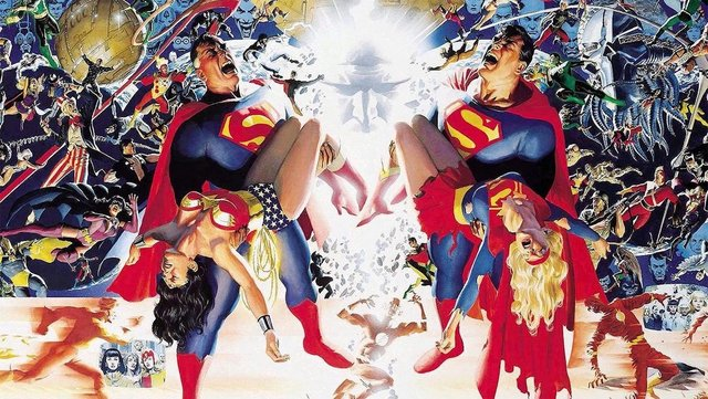 crisis on infinite earths alex ross