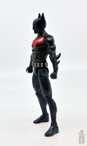 dc multiverse batman beyond figure review - left side