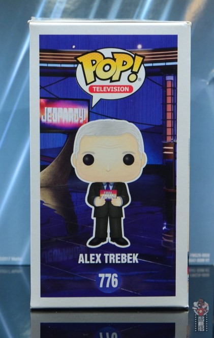 funko pop alex trebek figure review - package right side