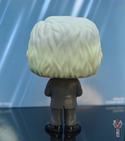 funko pop alex trebek figure review - rear