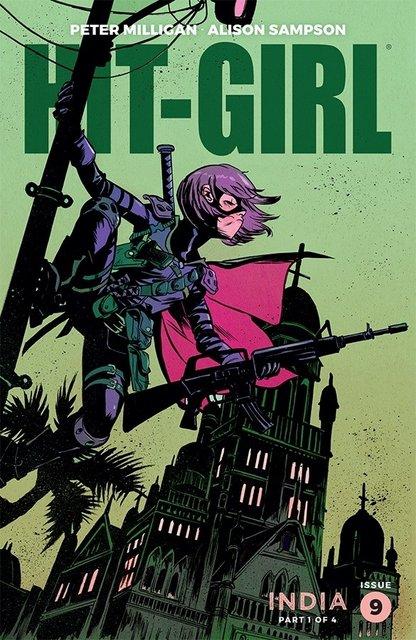 hit-girl-season-two-#9 variant cover