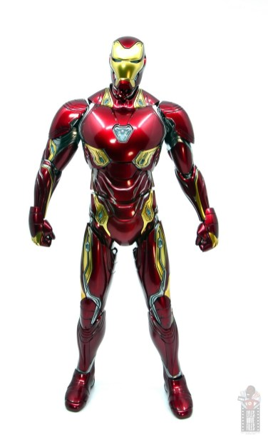 hot toys avengers infinity war iron man figure review - front